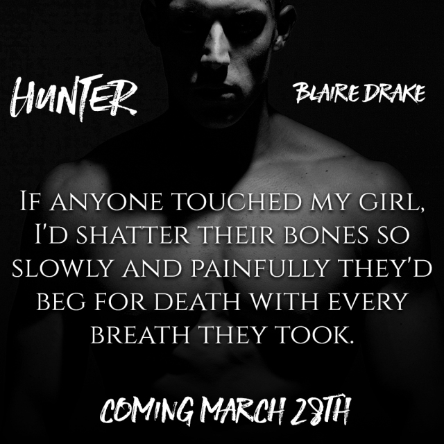 Hunter by Blaire Drake - Teaser 2