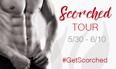 Scorched Blog Tour Banner