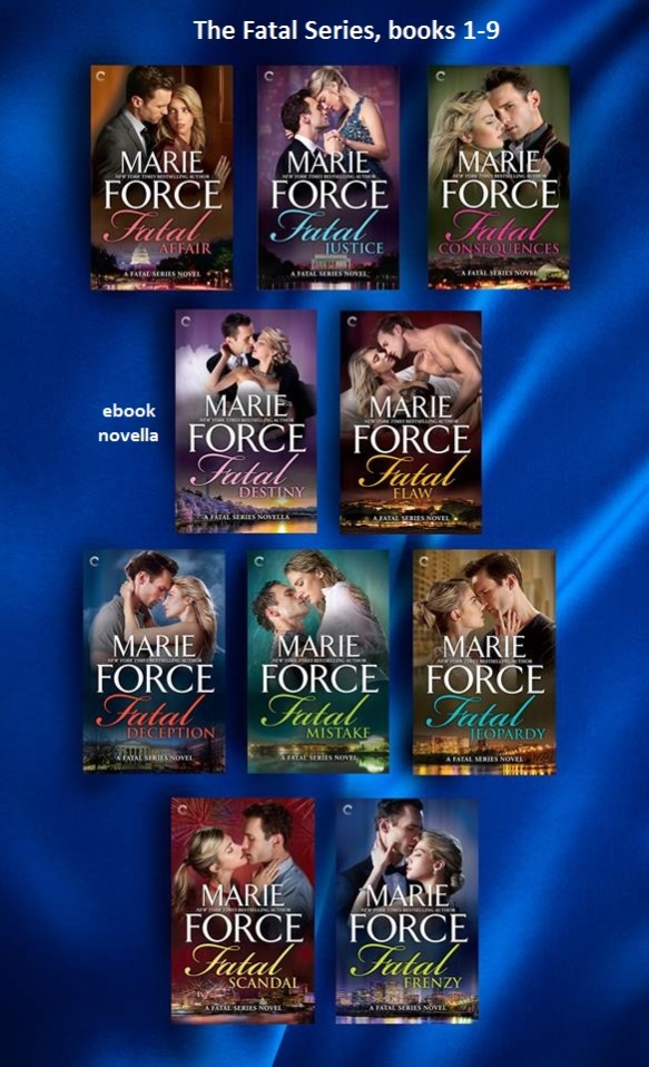 Fatal Series cover images_books 1-9