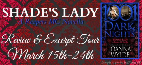 SHADE'S LADY - Tour banner