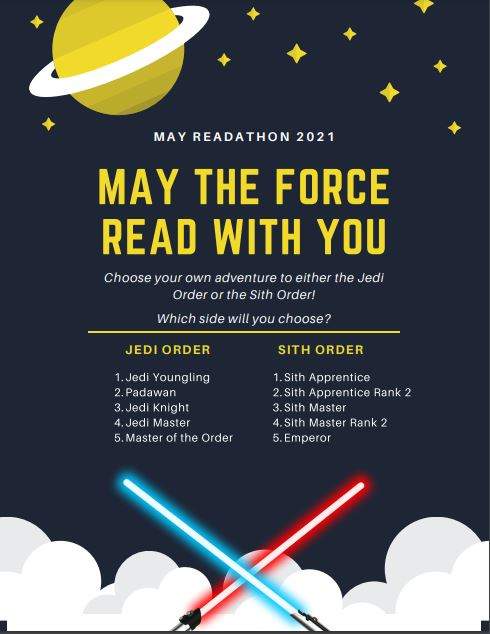 May the Force Read with You Readathon Star Wars Orders